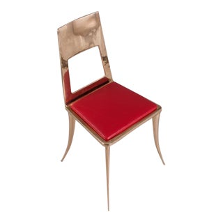 Bronze Klismos Chair by Nick King