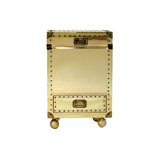 Brass Clad Storage Chest