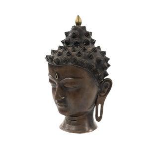 Antique Bronze Chiangsang Buddha Head