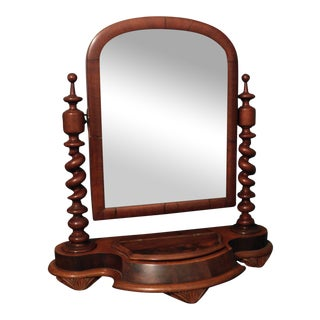 Antique Early Shaving Mirror