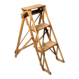 19th C. Hatherley Step Ladder