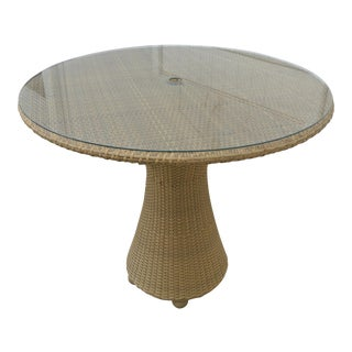 Hularo Outdoor Synthetic Fiber Bar Table