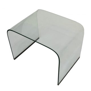 Italian Design Glass End Table Attr. Pietro Chiesa