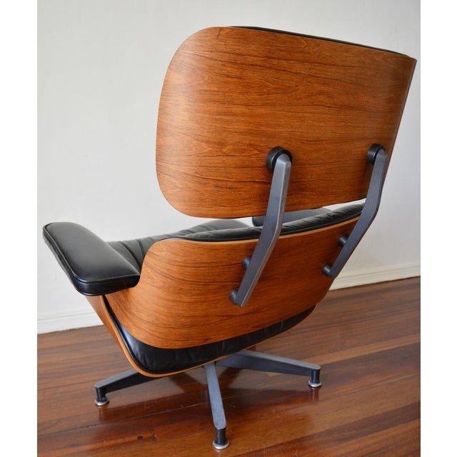 Vintage Herman Miller Rosewood Eames Lounge Chair & Ottoman - Image 5 of 11