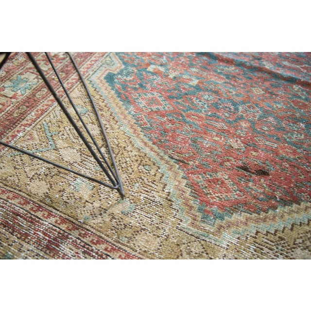 """Antique Malayer Rug - 4'1"""" x 6'7"""" - Image 9 of 10"""