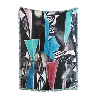 ''Windchime'' Woven Throw Blanket