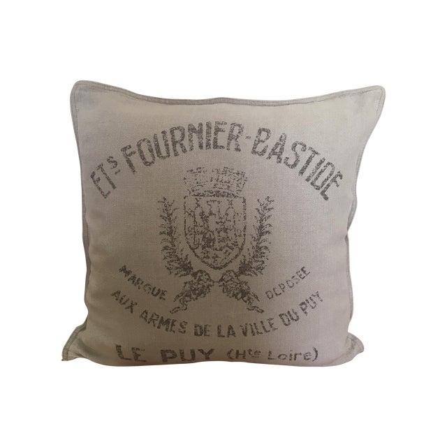 Decorative Pillows Restoration Hardware : Restoration Hardware French Linen Throw Pillow Chairish