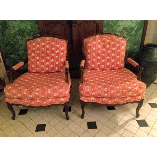 Baker Furniture Bergere Chairs - A Pair - Image 9 of 11