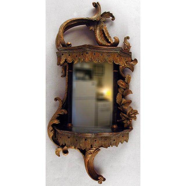 Baroque style mirror wall bracket chairish for Baroque style wall mirror