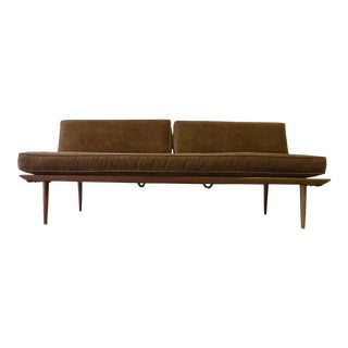 Mid Century MODEN WALNUT DAYBED sofa