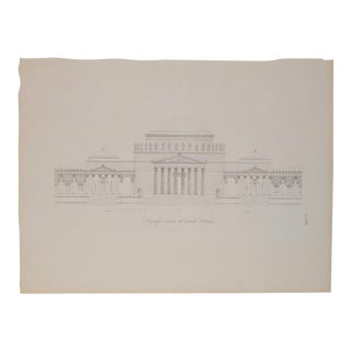 """19th Century Copper Plate Engraving """"The Great Oratory"""""""