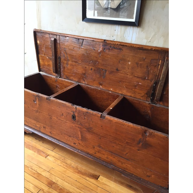 Tuscan Antique Trunk - Image 7 of 8