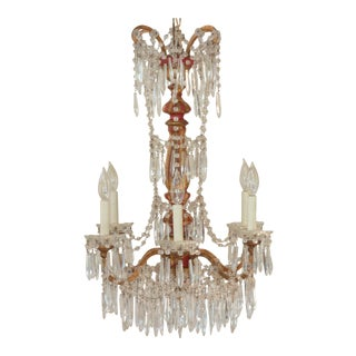 19th Century Italian Empire Chandelier