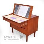Image of Arne Vodder Secretary Vanity Desk Dresser for Sibast