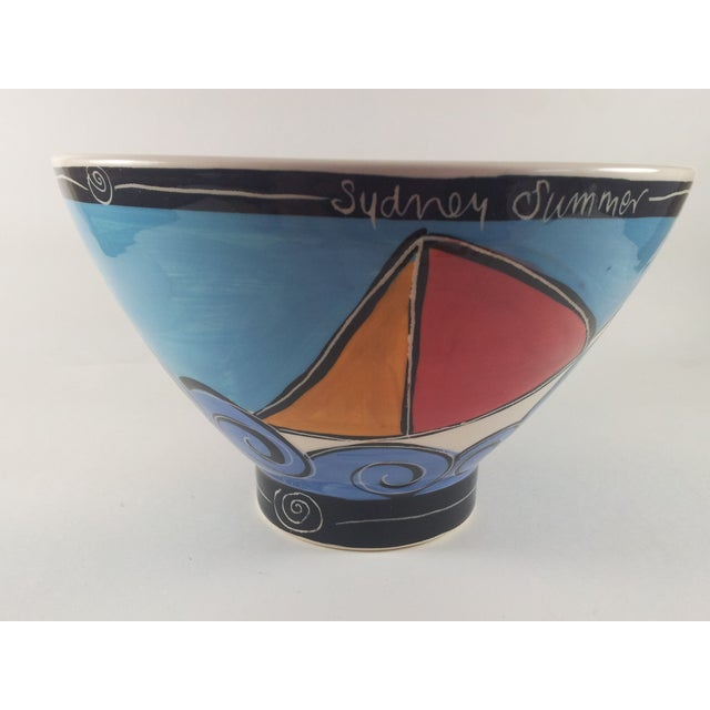 Australian Art Pottery Bowl, Made in Sydney - Image 4 of 6