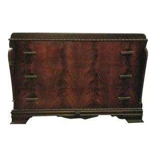 Mahogany Blaze Veneer Dresser