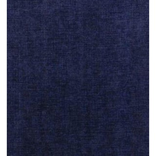 Duralee Navy Blue Chenille Fabric - 5 Yards