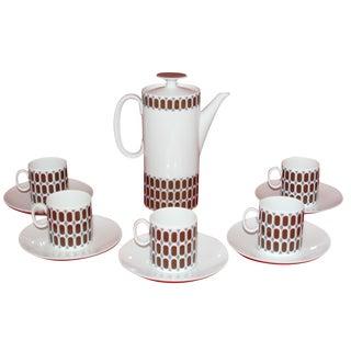 12-Piece Rosenthal Porcelain Espresso Set