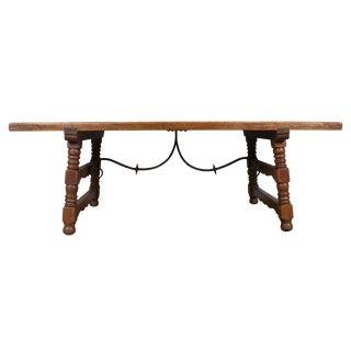 Rustic Spanish Oak Dining Table