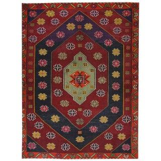 Vintage Cicim Kilim | 6'7 x 9'2 Turkish Flatweave