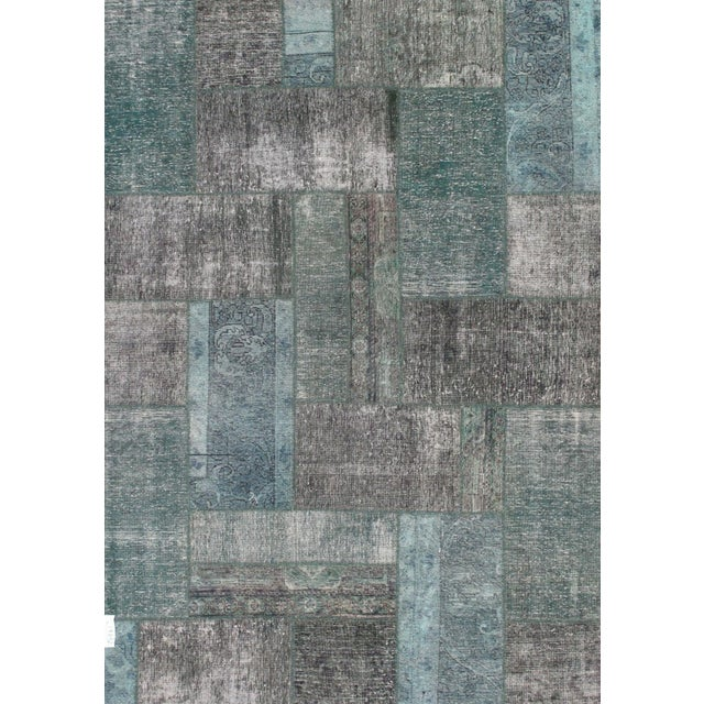"""Image of Pasargad Patchwork Collection Rug - 5'8"""" X 7'10"""""""