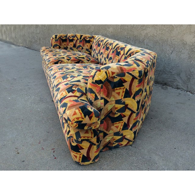 Angelo Donghia Memphis Upholstered Sofa - Image 5 of 8