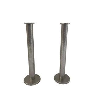 Mid-Century Modern Silver Candlesticks - a Pair