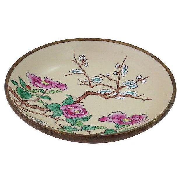 Cherry Blossom Brass-Cased Catchall - Image 2 of 5