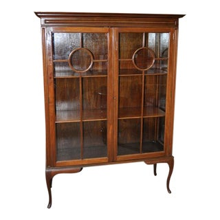 Mahogany Custom Made Edwardian Display Cabinet