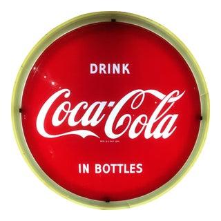 Vintage Coca-Cola Halo Light