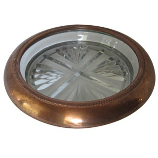 Copper Champagne Coaster
