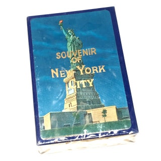 Vintage New York Souvenir Playing Cards