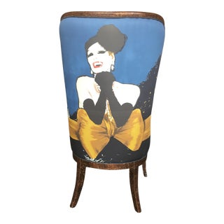 Tres Jolie Maison Home Collection Rene Gruau Designer Host Chair