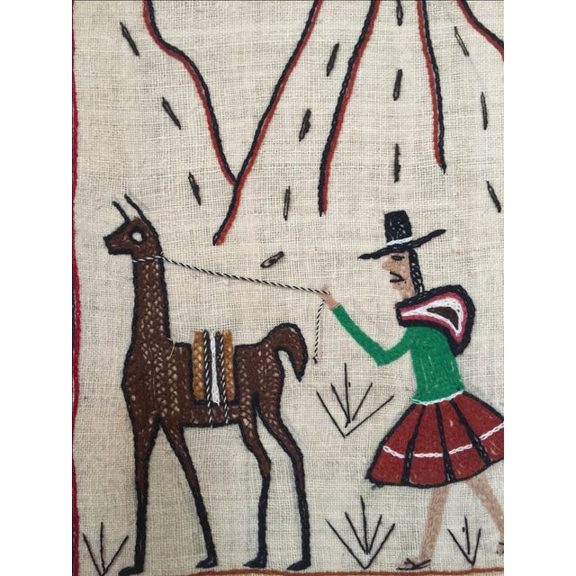 Central American Traditional Art Textile - Image 3 of 4
