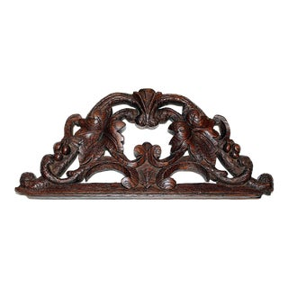 Antique French Carving