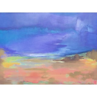 """Drifting Off"" Original Contemporary Abstract Painting by Alicia Dunn"