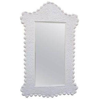 Italian Faux-Seashell Arched Mirror