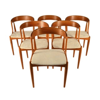 Johannes Andersen Teak Dining Chairs- Set of 6