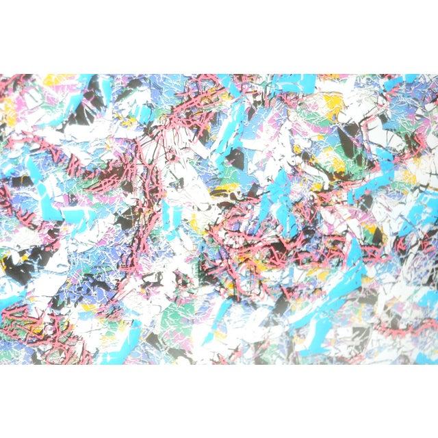 Paul Slapion Mixed Media Painting C.1985 - Image 3 of 7