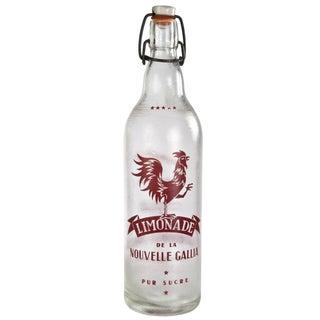 Vintage Nouvelle Gallia Limonade Bottle