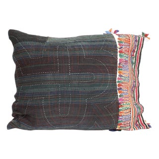 Antique Textile Pillow