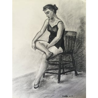1949 Drawing Ballerina by Costello
