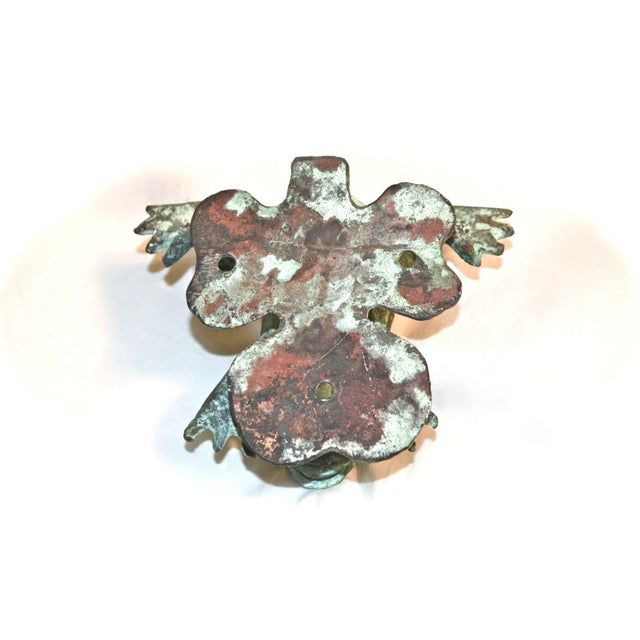 Bronze Frog Door Knocker With Glass Eyes - Image 10 of 10