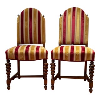 Antique Dining Chairs - Pair