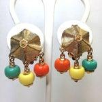 Image of Multicolor Beaded Bracelet & Earrings