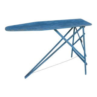 Antique Painted Ironing Board Table