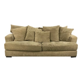 Z Gallerie Microsuede Lounge Sofa