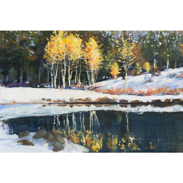 """Image of """"Bear Creek Pond"""", Texas by Donald Eagling"""