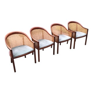 Ward Bennett Mid-Century Armchairs - Set of 4
