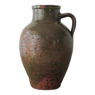 Olive Green Turkish Jar